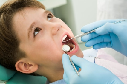 Child's First Dental Exam